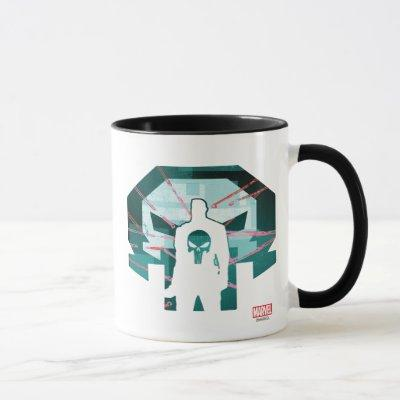 Punisher Logo Silhouette Mug