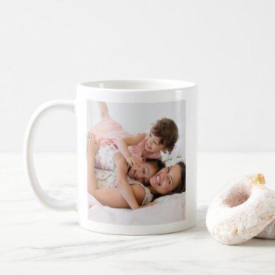 Pure Happiness Family Joy Photo Mug