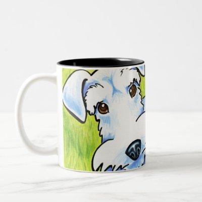 Pure Schnauzer Two-Tone Coffee Mug