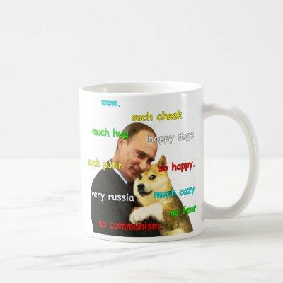 Putin Doge Coffee Mug