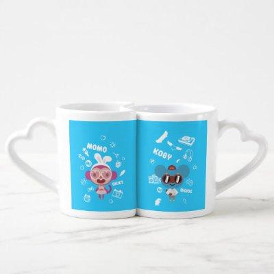 Qkids Mugs for friends and couples