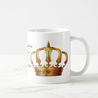 Queen Elizabeth Crown Mug