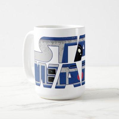 R2-D2 Star Wars Logo Coffee Mug