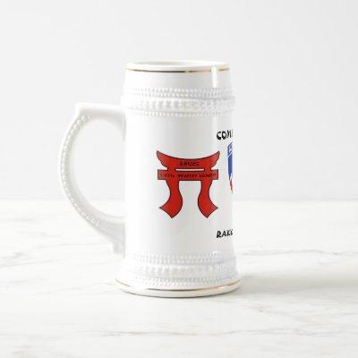Raider Rakkasan 2/187th Infantry Regiment Beer Stein