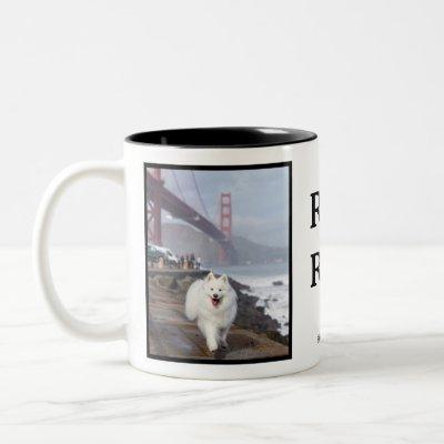 Rao Rao! Two-Tone Coffee Mug