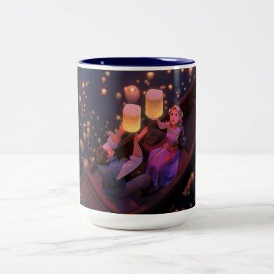 Rapunzel | Make Your Own Magic Two-Tone Coffee Mug