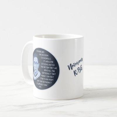 RBG Citizens United Coffee Mug