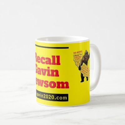 recallgavin2020 cup/pen holder coffee mug