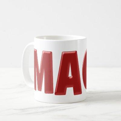 Red MAGA Coffee Mug