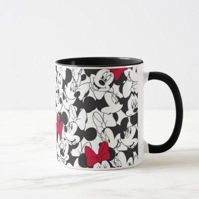 Red Minnie | Red Bow Pattern Mug