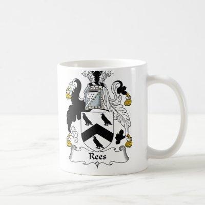 Rees Family Crest Coffee Mug