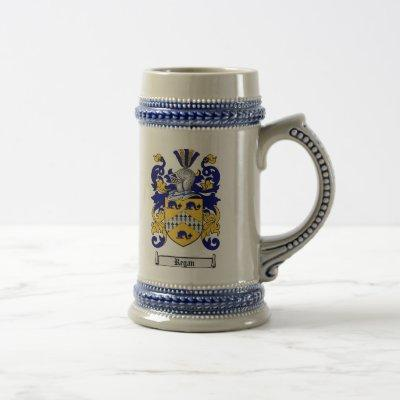 Regan Coat of Arms Stein