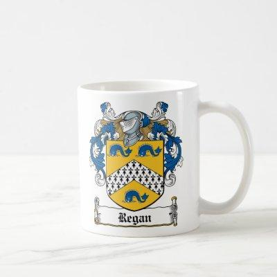 Regan Family Crest Coffee Mug