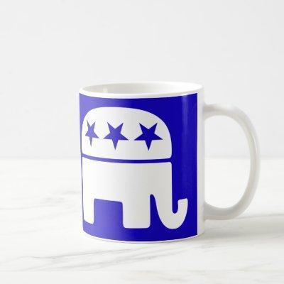 Republican Elephant Mug