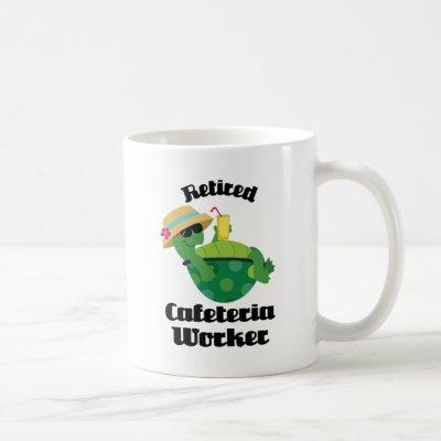 Retired Cafeteria Worker (Turtle) Coffee Mug
