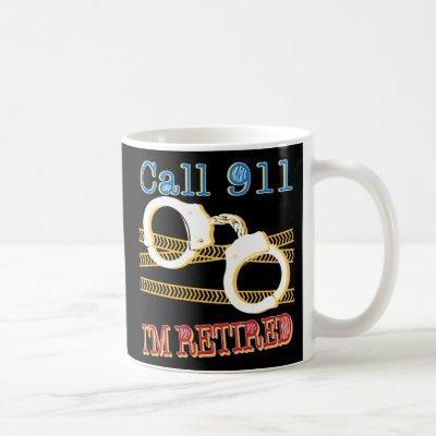 Retired Cop Police Officer Funny Retirement Mug