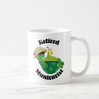 Retired Manicurist (Turtle) Coffee Mug
