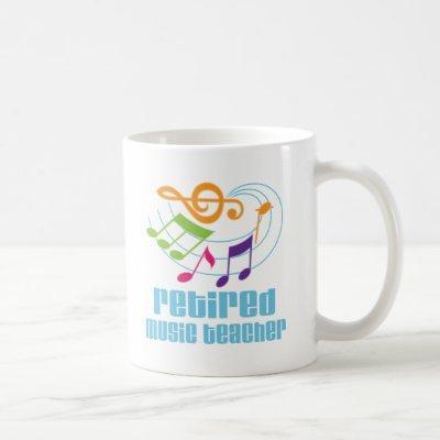 Retired Music Teacher Coffee Mug