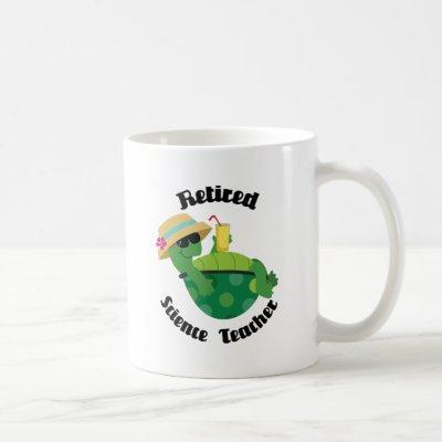 Retired Science Teacher (Turtle) Coffee Mug