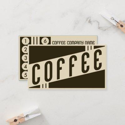 retro coffee customer loyalty