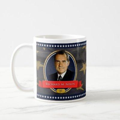 Richard M. Nixon Historical Mug