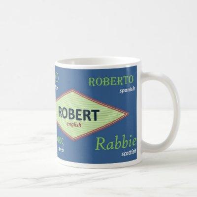 Robert International Name Mug