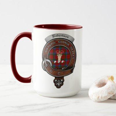 Robertson Clan Badge Combo 15oz Mug