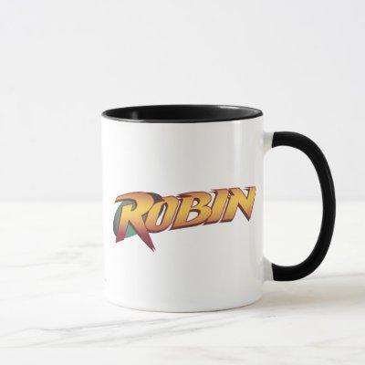 Robin Name Logo Mug