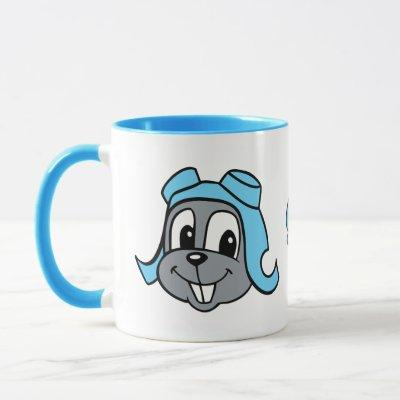 Rocky J. Squirrel | Smiling Face Mug