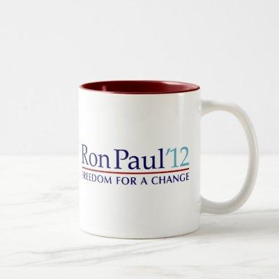Ron Paul 2012 Two-Tone Coffee Mug