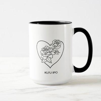"RoseLove Coffee Mugs ""my beloved sweetheart"""