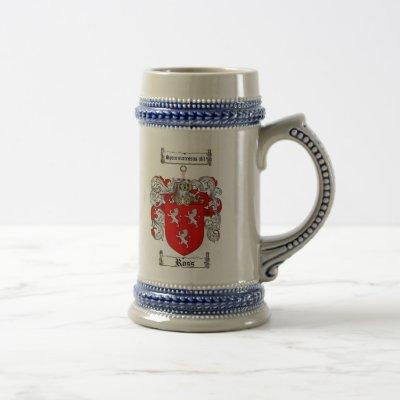 Ross Coat of Arms Stein