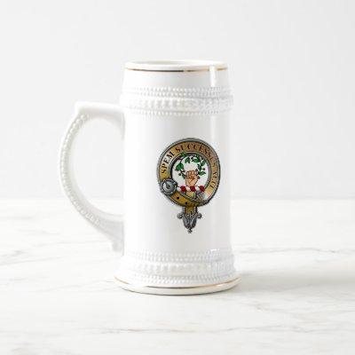 Ross Crest Badge Beer Stein
