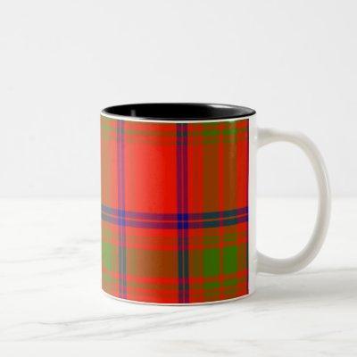 Ross Scottish Tartan Two-Tone Coffee Mug