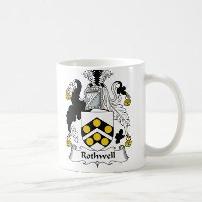 Rothwell Family Crest Coffee Mug