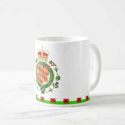 Royal Badge of Wales Coffee Mug