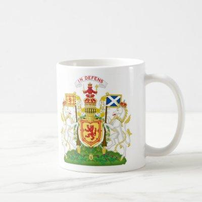 Royal Coat of Arms of the Kingdom of Scotland Coffee Mug
