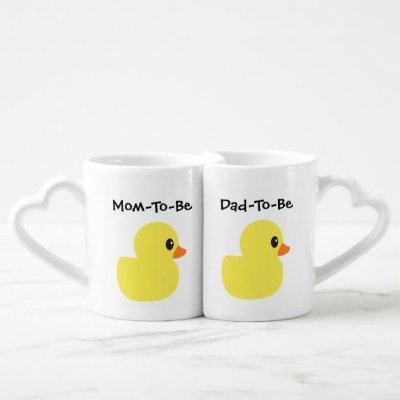 """Rubber Ducky"" Nesting Mugs"