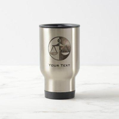 Rugged Justice Scales Travel Mug