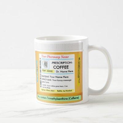 RX Mug - Customize Your Own