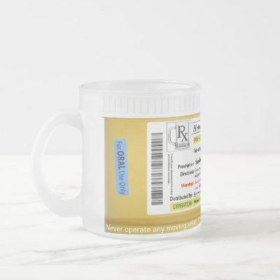RX Prescription Beer Mug CustomizeAbles