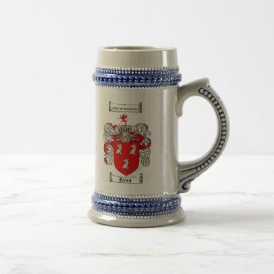 Ryan Coat of Arms Stein