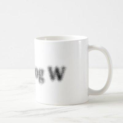 S = k log W Coffee Mug