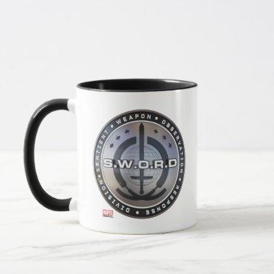 S.W.O.R.D. Emblem Mug