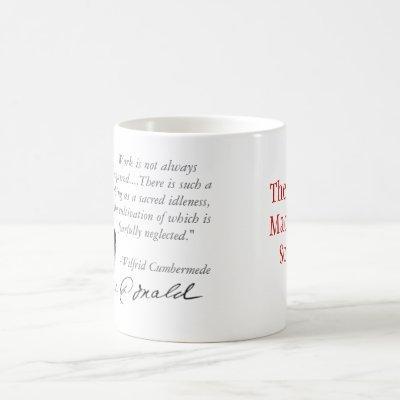 Sacred Idleness Coffee Mug