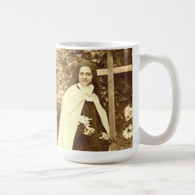 Saint Therese of Lisieux Mug