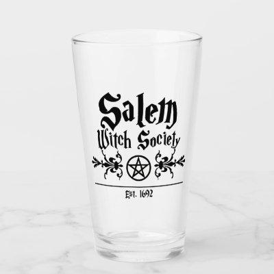 Salem Witch Society Glass