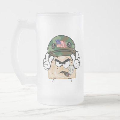Salty Army Frosted Mug (large)