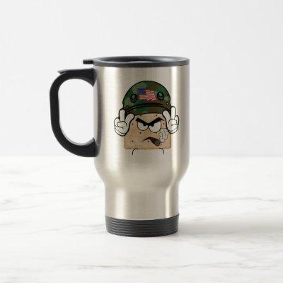 Salty Army Stainless Steel Travel Mug