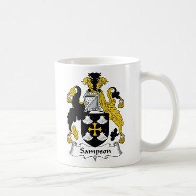 Sampson Family Crest Coffee Mug